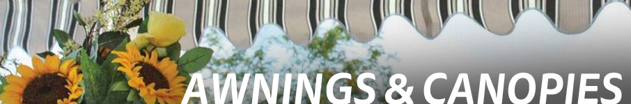 decorative garden awnings and canopies