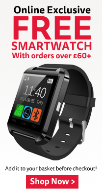 Free Smartwatch with order over £60+