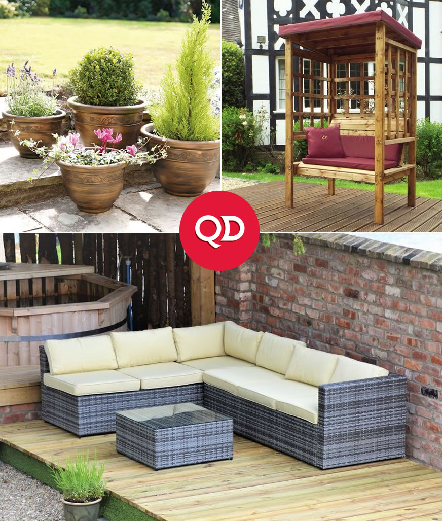 Decorative Garden Structures - Buy Online at QD Stores