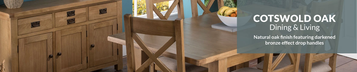 The Cotswold Oak Furniture Range