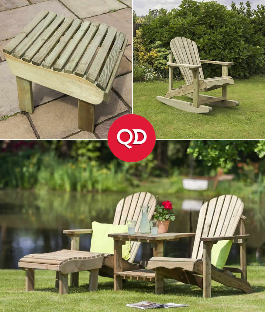Cheap Garden Chairs - Buy Online at QD Stores