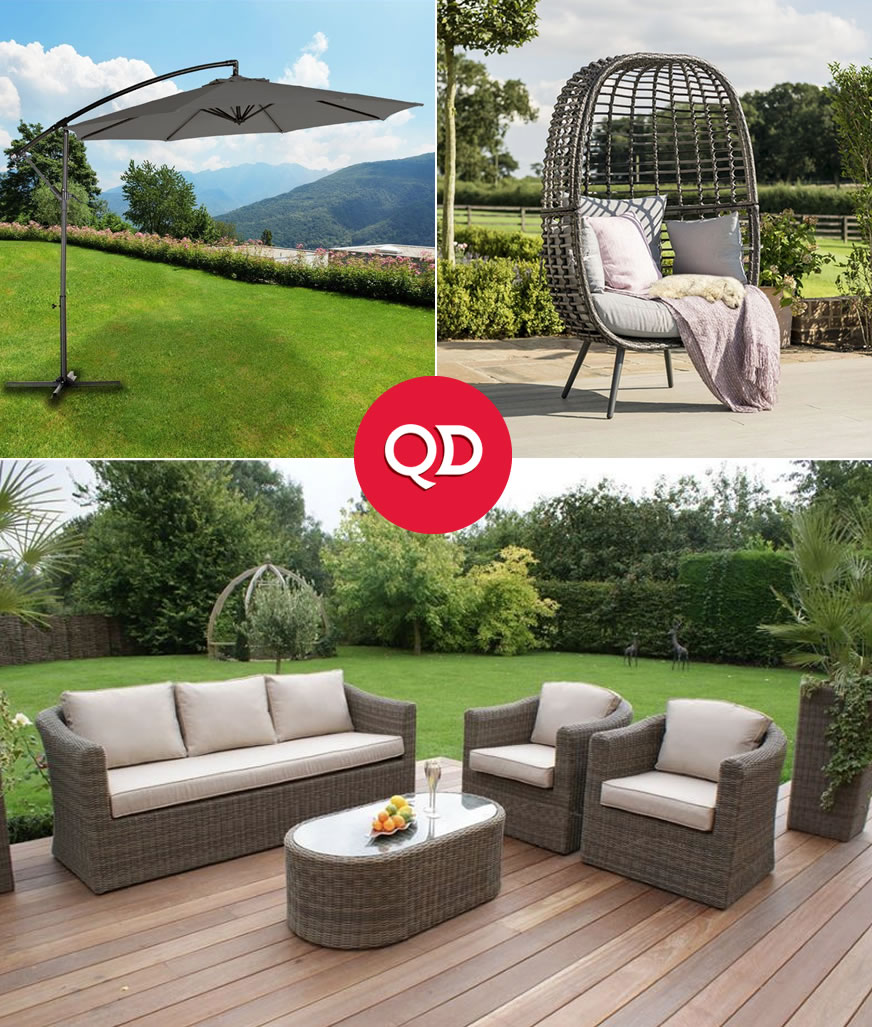 Cheap Outdoor & Garden Furniture - Buy Online at QD Stores
