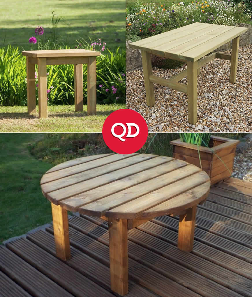 Cheap Garden Tables & Accessories - Buy Online at QD Stores