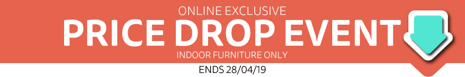 Online Exclusive price Drop Furniture Event