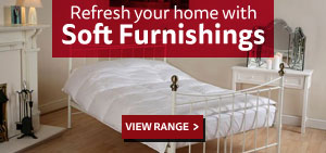 Refresh your home with Soft Furnishing - Online & In-store