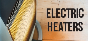 Keep warm this winter with one of our happy price electric heaters