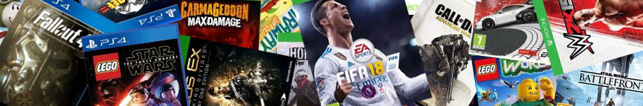 Console Games Category Banner
