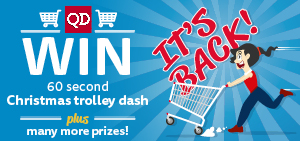 Win a 60 Second trolley dash - enter online or in-store