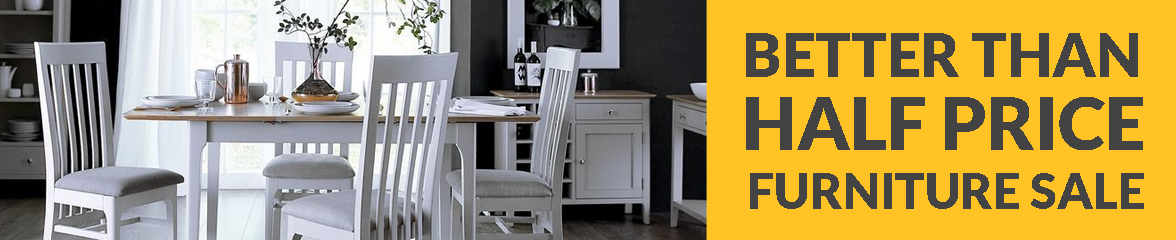 Save 50% OFF Oak Furniture Whilst Stock Last