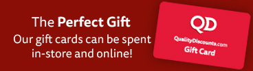 QD Gift Cards - Spend it Online or In-Store!