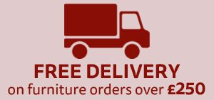 Free home delivery on furniture orders over 250