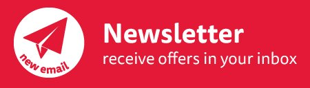 Signup To Our Newsletter For Offer, Competitions and more...