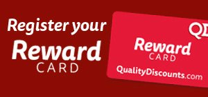 Register your Reward Card online, havent got one? Pick one up in-store today!