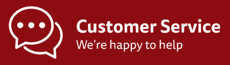 Customer Service - we are happy to help