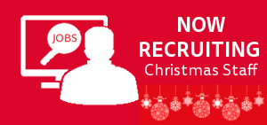 We Are Now Recruiting For Christmas Staff