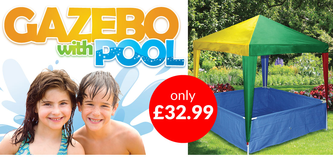 Kids Gazebo and Pool