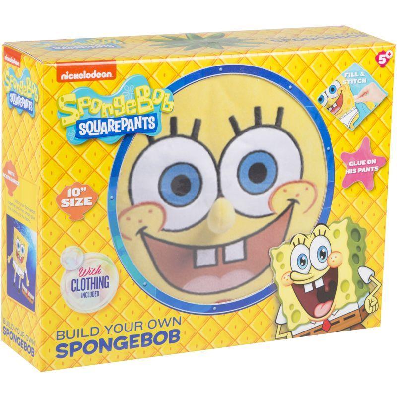 Grafix Build-Your-Own SpongeBob Toy Set