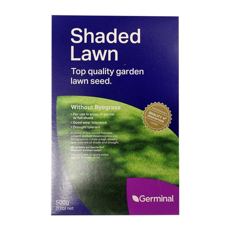 500g Shaded Lawn Seed 14 Square Metres Coverage