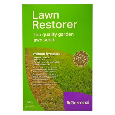 1.5Kg Lawn Restorer Without Ryegrass 20 Square Metres Coverage