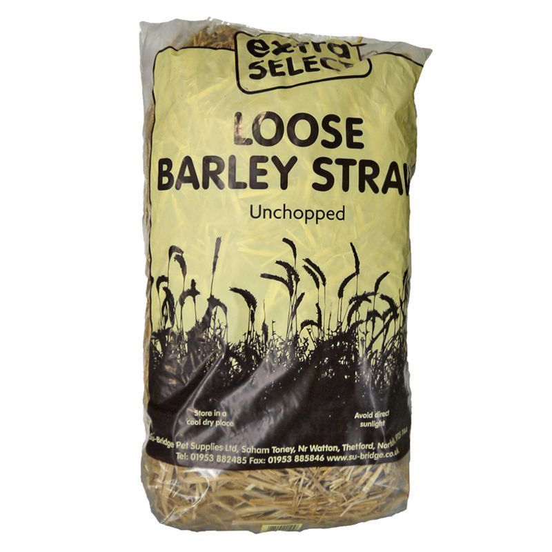 Extra Select Loose Barley Straw Unchopped