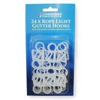 See more information about the 24 Rope Light Gutter Hooks