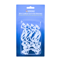See more information about the 20 Gutter Hooks & Clips For String Lights