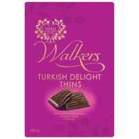 See more information about the Walkers Turkish Delight Milk Chocolate Thins Tin 300g