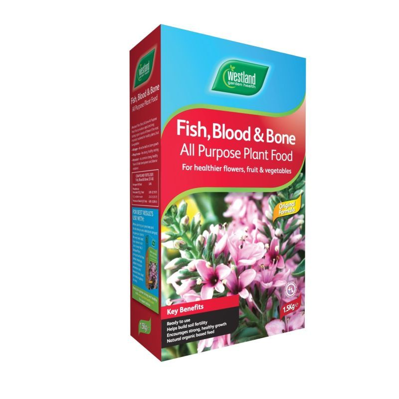 Westland Fish Blood and Bone All Purpose Plant Food 1.5kg