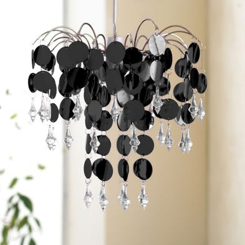 Chandelier Chic-Black