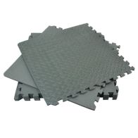 See more information about the 6 Piece Floor Mat & 10 Edges - Grey