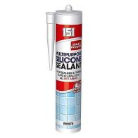 See more information about the 151 Multi-Purpose Silicone Sealant 280ml - White