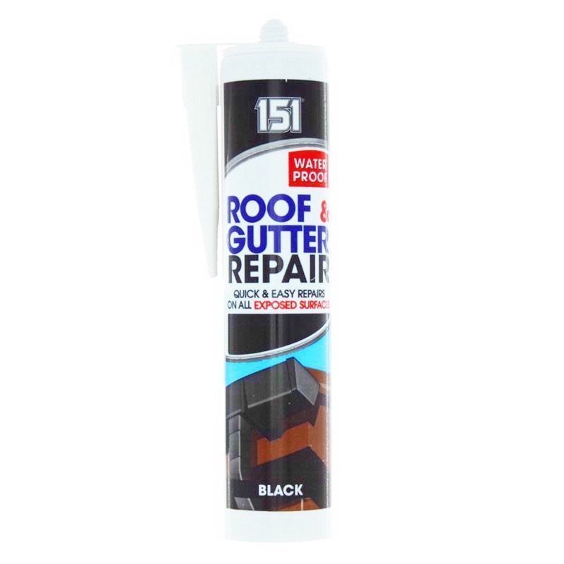 151 Roof and Gutter Sealant 310ml - Black