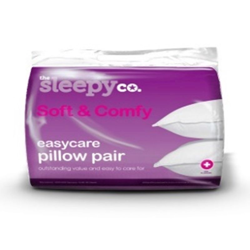 Soft and Comfy Bed Pillow Pair
