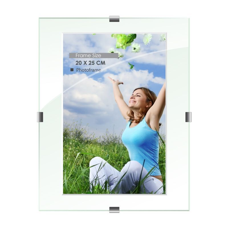 Clip Photo Frame 20x25cm 2 Pack