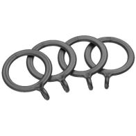 See more information about the Universal Matt Silver Curtain Rings Pack 4