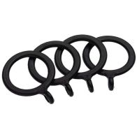 See more information about the Universal Black Curtain Rings Pack 4