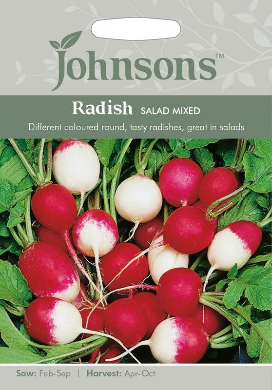 Johnsons Radish Salad Mixed Seeds