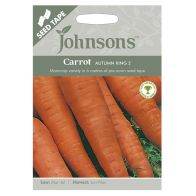 See more information about the Johnsons Seed Tape Carrot Autumn King Seeds