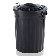 See more information about the 80 Litre Waste Bin With Metal Handles