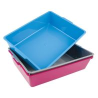 See more information about the Large Litter Tray (Rectangular) Blue