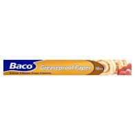 See more information about the Baco Greaseproof Roll 375mm x 10m