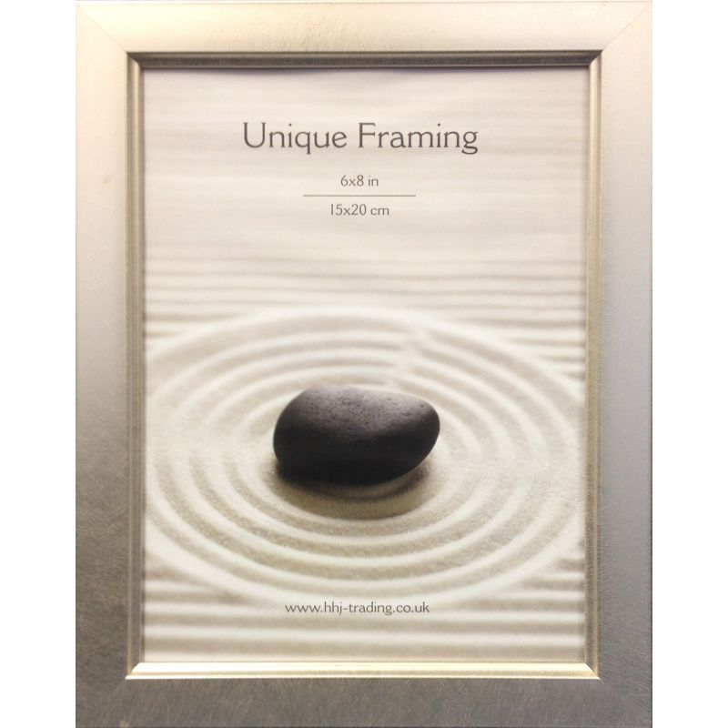 Classic Silver Photograph Frame 8 x 6