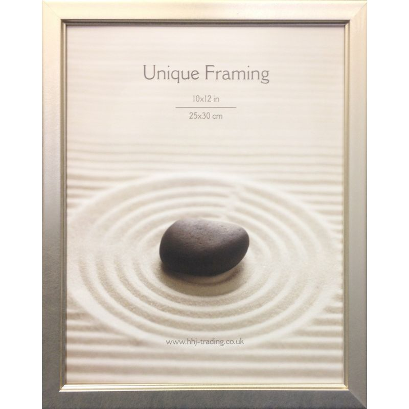 "Classic Silver Photograph Frame (12"" x 10"")"