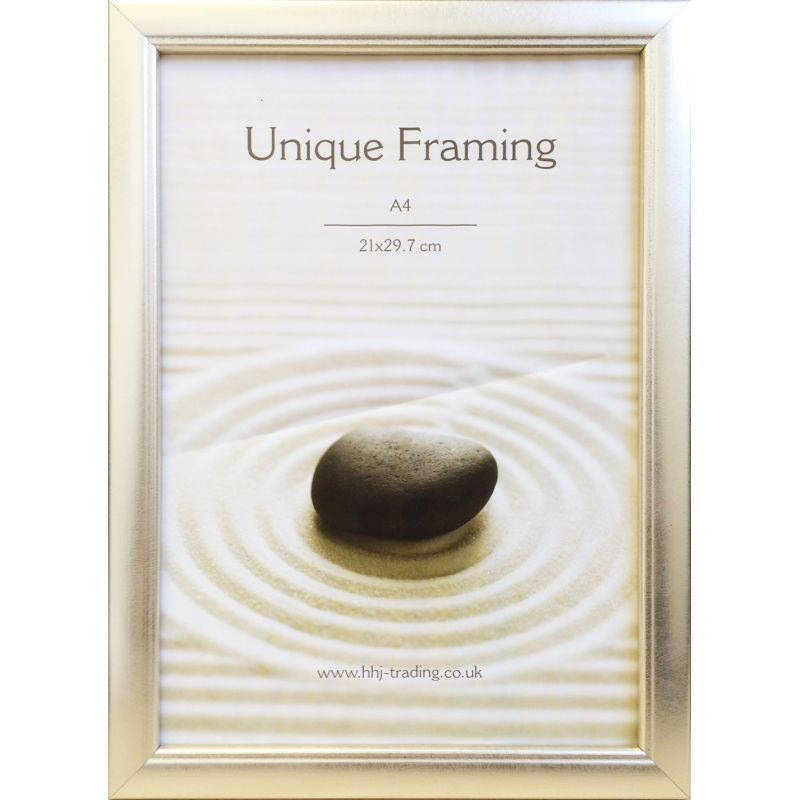 Classic Silver Photograph Frame A4