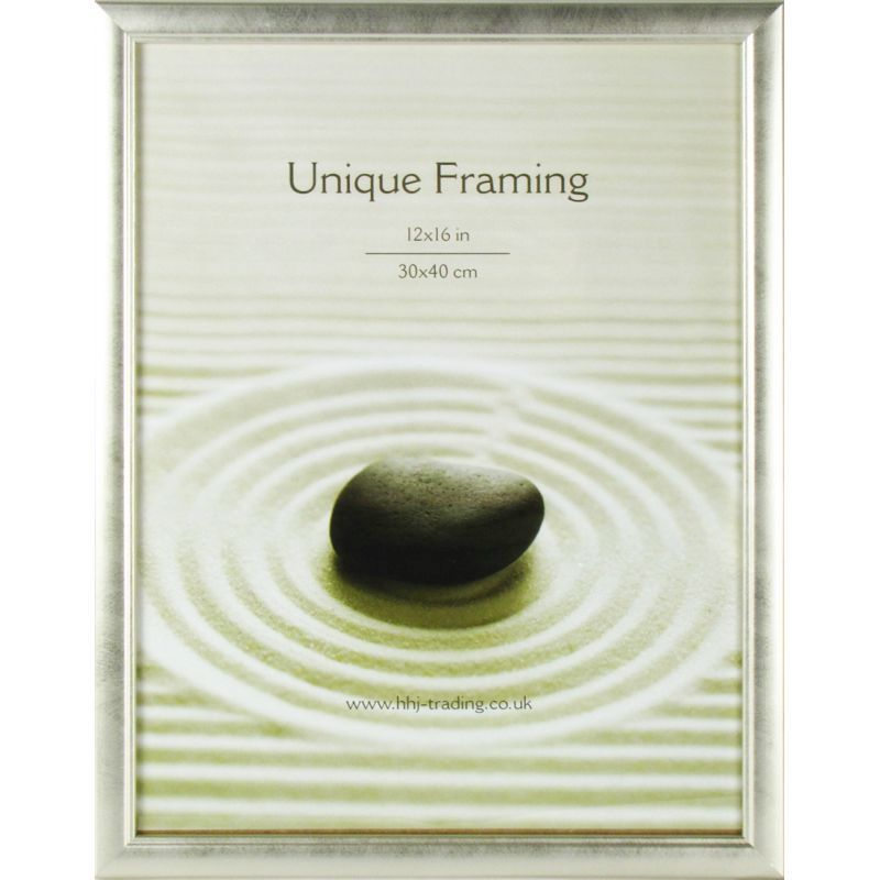 "Classic Silver Photograph Frame (16"" x 12"")"