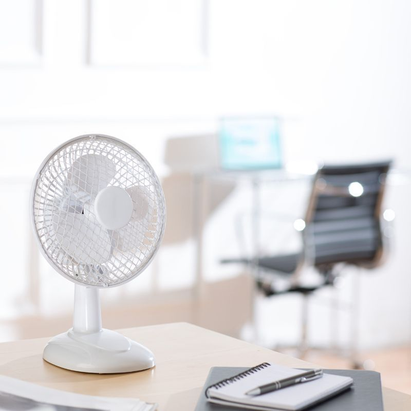 6 Inch Desk Fan : Fine elements inch desk cooling fan buy online at qd