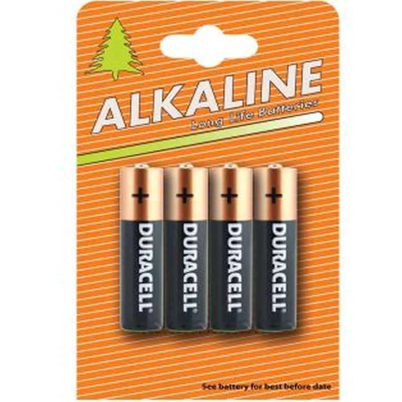 4 Pack Duracell AA Batteries