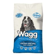 See more information about the Wagg Complete Dog Food with Chicken & Veg (12kg)