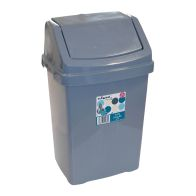 See more information about the Wham Swing Bin Silver 8L