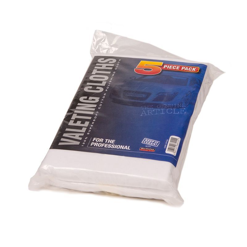 Valeting Cloths (5 Pack)